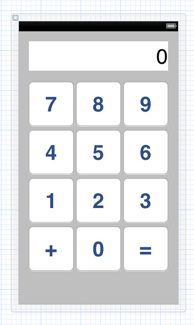 Calculator view
