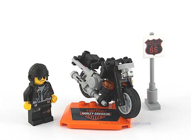 lego harley davidson custom fatboy motorcycle flickr. Black Bedroom Furniture Sets. Home Design Ideas