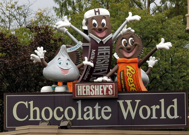Hershey's Chocolate World by CC user prayitnophotography on Flickr