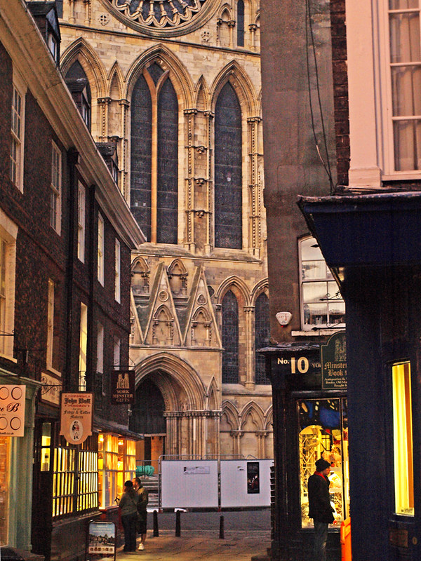 York Minster from Shambles