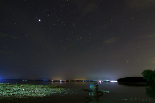 Winter constellations & Jupiter by mohdalfishahrin.blogspot.com