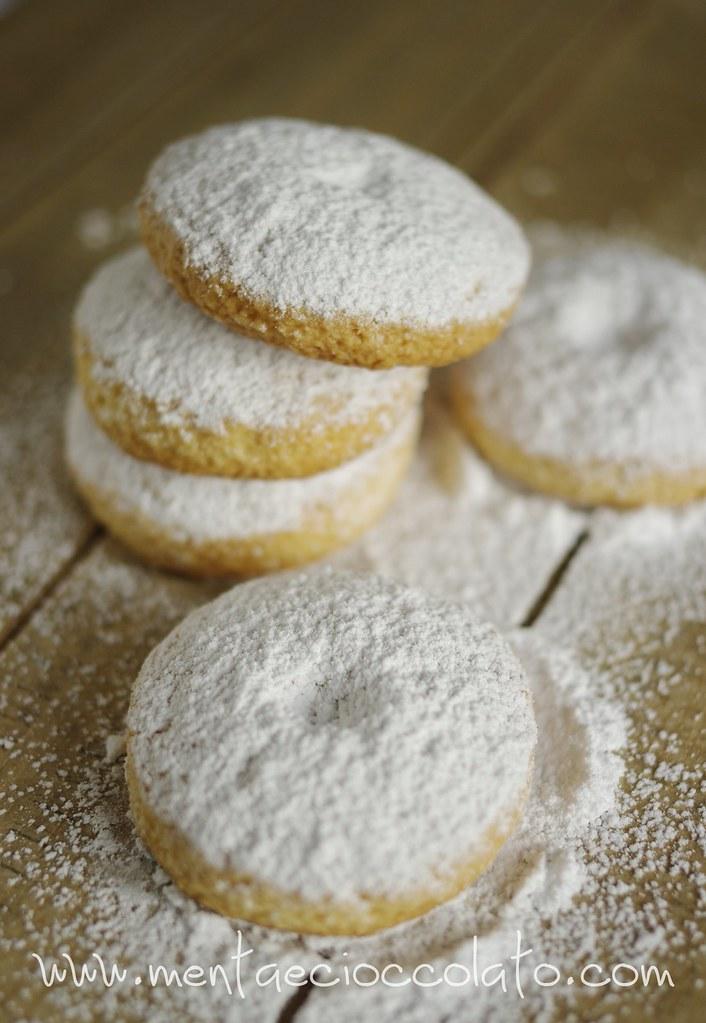 Famoso Menta e Cioccolato: Biscotti alla panna da inzuppare GM33