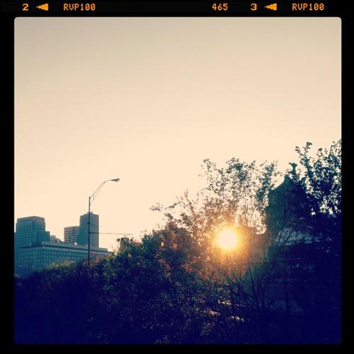 Good evening from downtown Cincinnati
