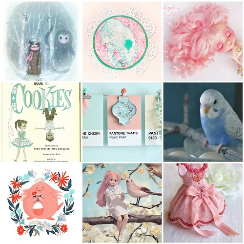 Friday Funspiration: pretty pink and blue