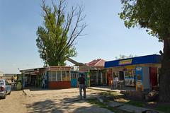 Petite pause le long de la route (M4) quelque part entre Rostov on Don et Krasnodar
