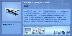 Autumn's Table for Coffee