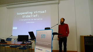 Suspending Virtual Disbelief: A Perspective on Narrative Coherence Veli-Matti Karhulahti