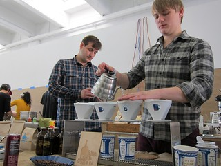 Unique NYC Holiday Show: Blue Bottle Coffee