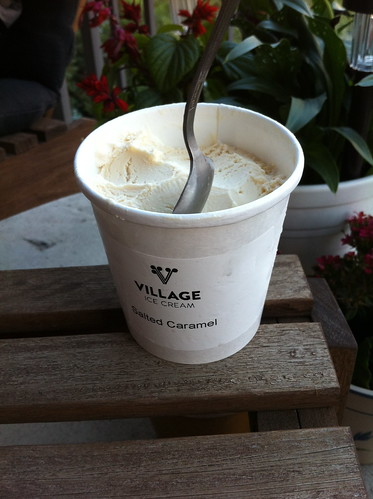 Salted Caramel Ice Cream from Village
