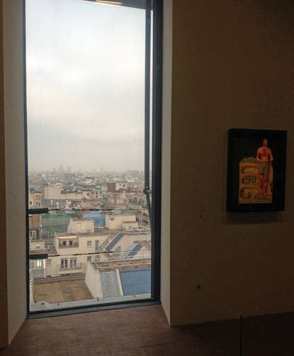 París desde la expo Dalí variante Uti 415