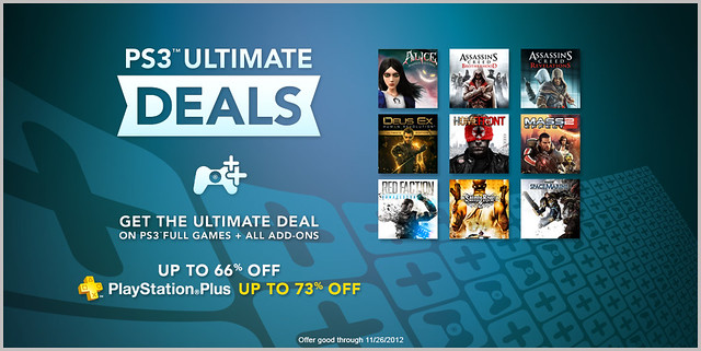 Ultimate Deals November 2012
