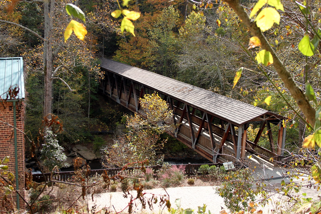 Roswell, GA - Covered bridge