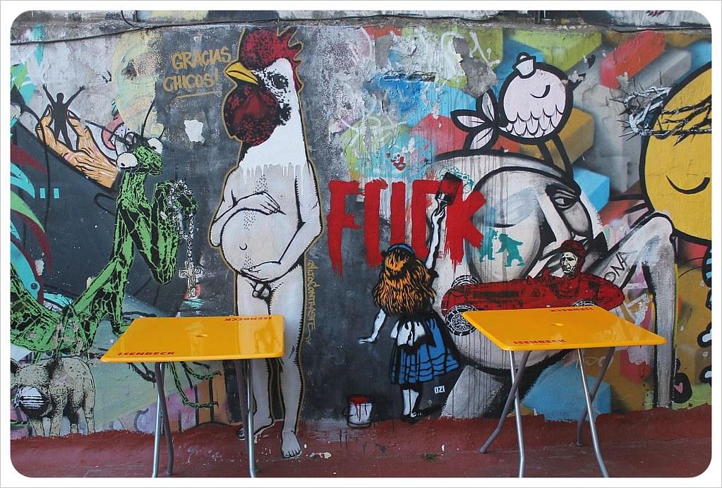 buenos aires street art post street bar