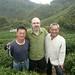 Hugo en compagnie de M. Nen yu et M. Lin à Shan Lin Xi