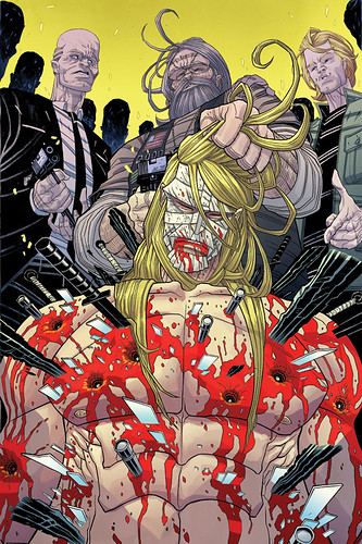 Legend of Luther Strode #3 - Cover by sobreiro