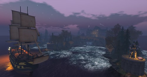 Sailing Around Winterfell