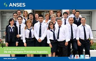 27 de noviembre. Día del Trabajador Previsional Argentino