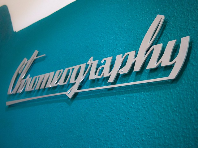 Chromeography Exhibition Title