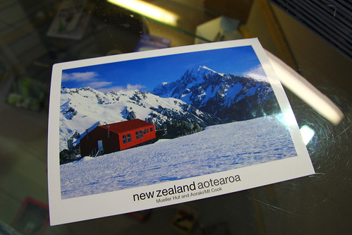 Mueller Hut Post Card