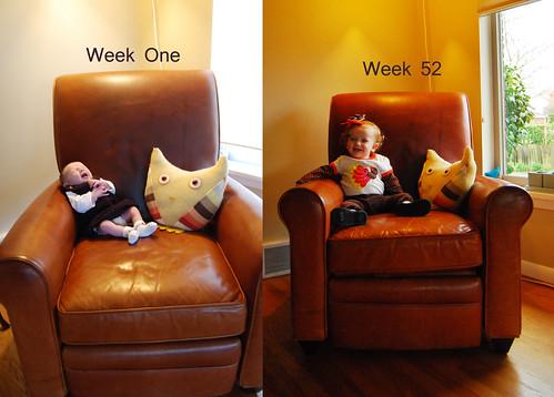 Week 1 vs Week 52