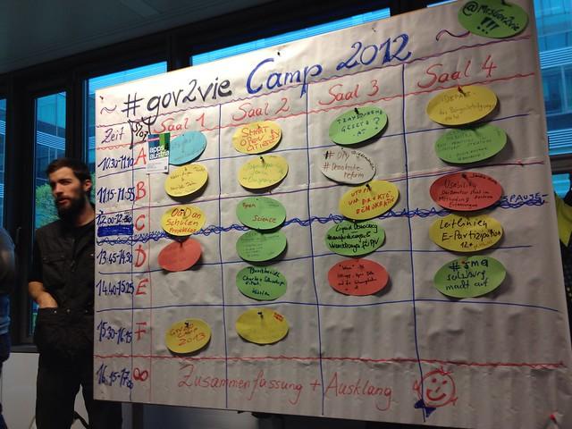 Sessionplan des #gov2vie