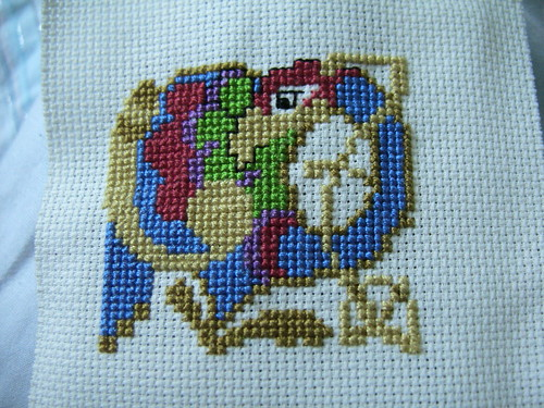 Before Backstitch