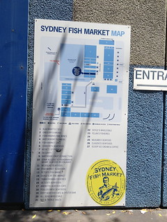 Map of Sydney FIsh Market
