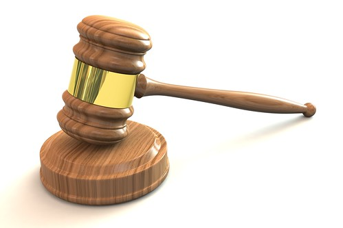 3D Judges Gavel