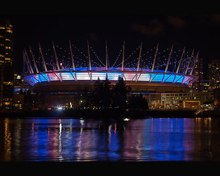 Union Jack Glow at BC Place