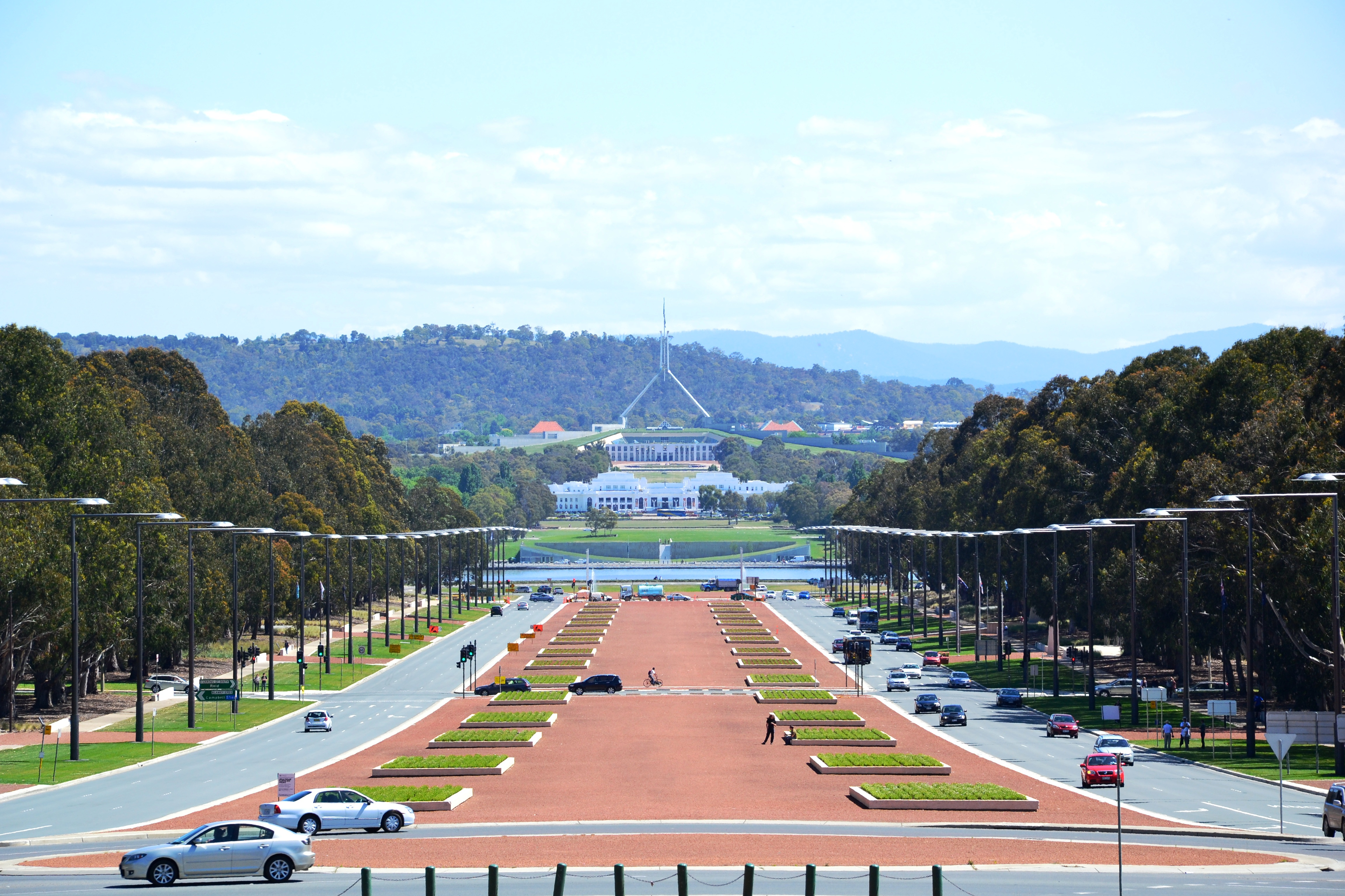 Enter the Australian Capital Territory and the nation's capital - Canberra