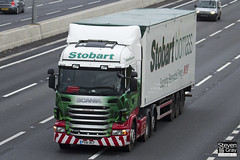 Scania R480 - 6x2 Tractor - PX61 BCF - Gabrielle Lily - Green & Red - 2011 - Eddie Stobart - M1 J10 Luton - Steven Gray - IMG_0167