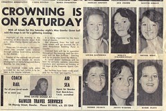 Miss Gawler Quest entrants 1975