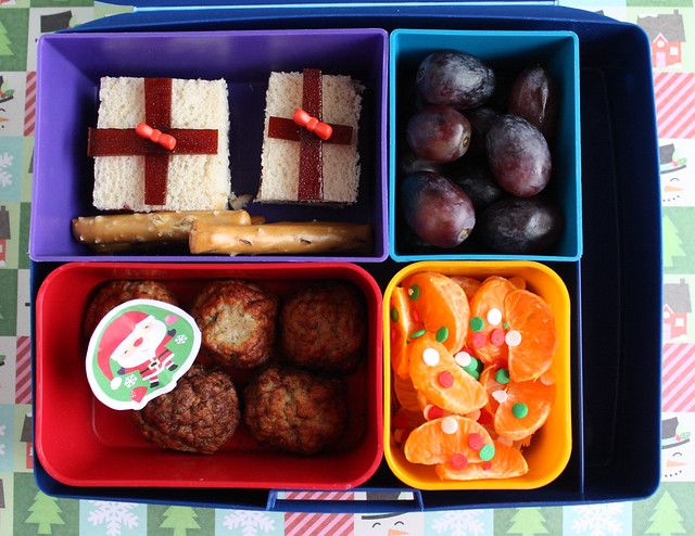 Big Kid Christmas Bento #684