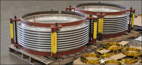 "42"" Dia. Single Tied Expansion Joints Designed for a Solar Electric Generation Facility"