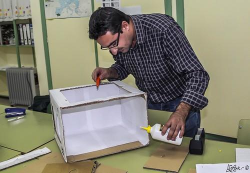 331/365+1  Construyendo una 'Caja de luz' by Bakalito (Antonio Benítez Paz)