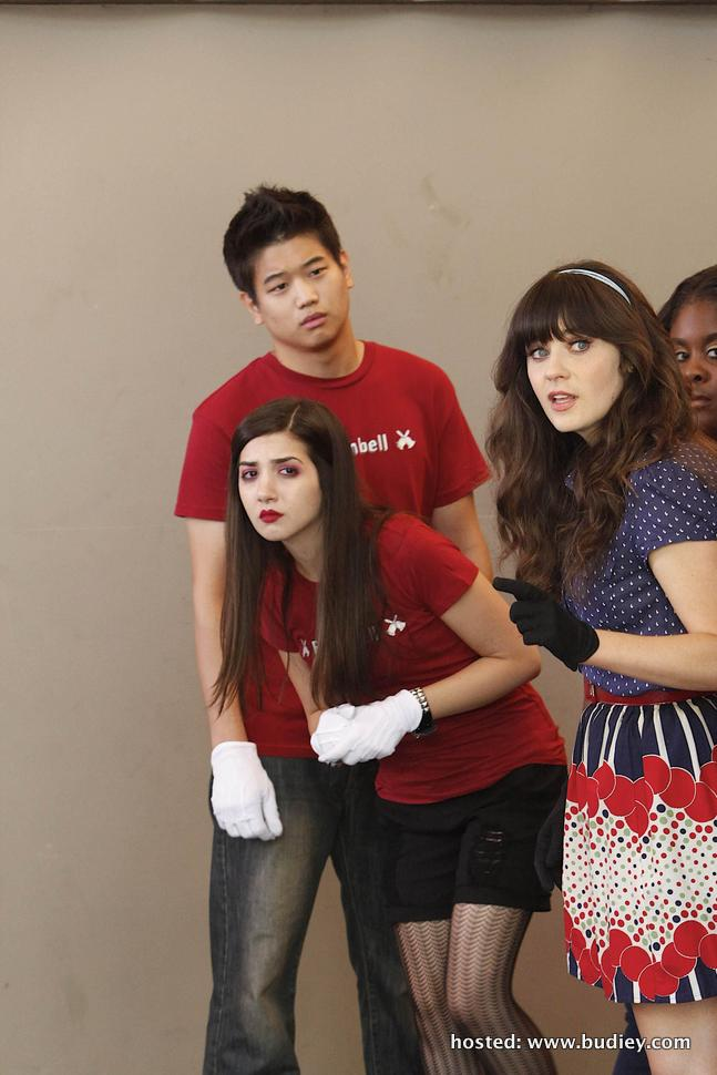 Zooey Deschanel as Jessica Jess Day in New Girl