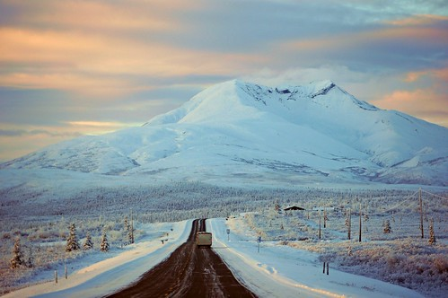 morning travel winter mountain snow cold alaska america landscape outdoor wilderness glennhighway gunsightmountain jlsphotographyalaska