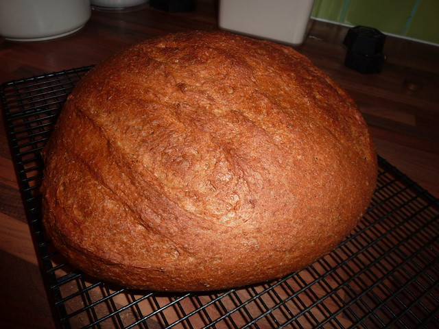 Breadmaker Slow Fermented Bread Loaf