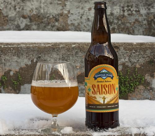 Review: Granville Island Saison (tis the season for some saison!) by Cody La Bière