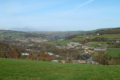 Luddendenfoot, Kershaw, Oats Royd Mills and Ovenden Moor, from Sowerby