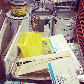 Living Room Paint Supplies
