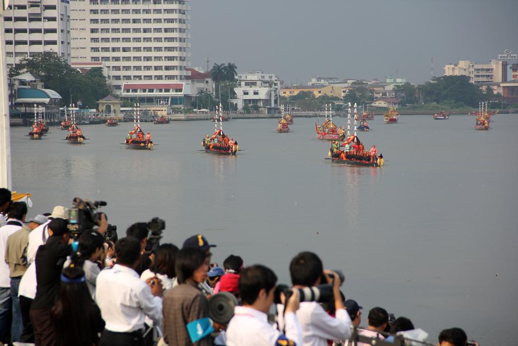 Barges Arriving