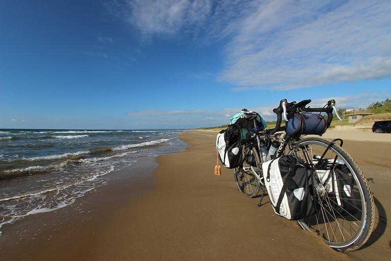 千里浜なぎさドライブウェイ 自転車