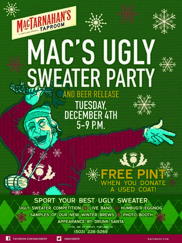 Mac's Ugly Sweater Party @ MacTarnahans