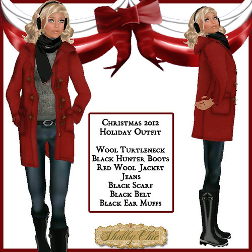 Shabby Chic Christmas 2012 Holiday Outfit by Shabby Chics