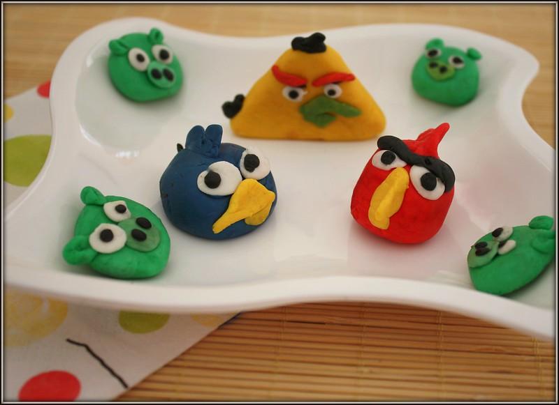 fondant angry birds