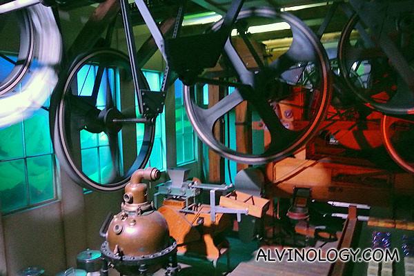 Heavy machinery to manufacture chocolate