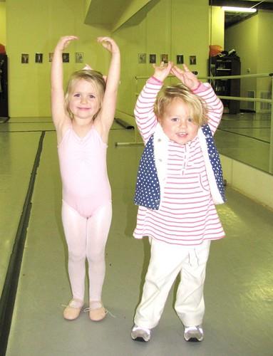 Anna and Caroline Ballet