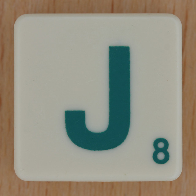 Scrabble Green Letter J | Flickr - Photo Sharing!