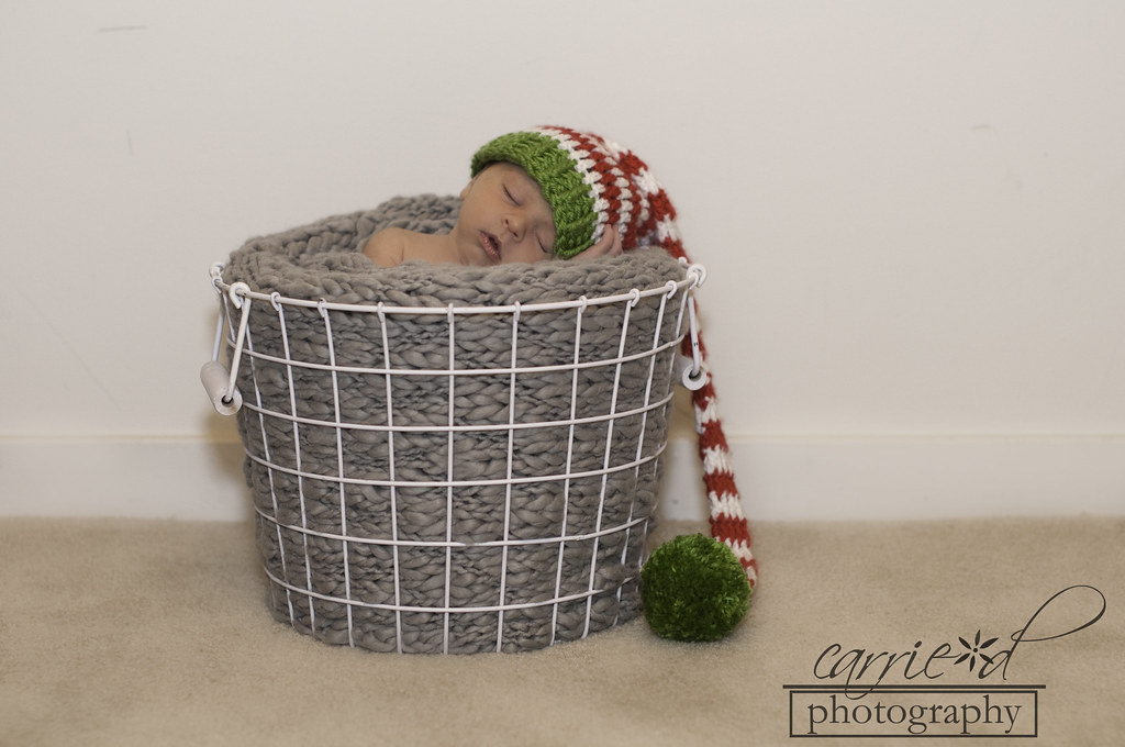 Baltimore Newborn Photographer - Baltimore Photographer - Baltimore Family Photographer - Newborn Photography - Pumpkin Newborn Hat - Christmas Newborn Hat - Newborn Photo with Football - Ian 11-19-2012 (67 of 208)